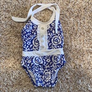 Janie and Jack infant girls swimsuit